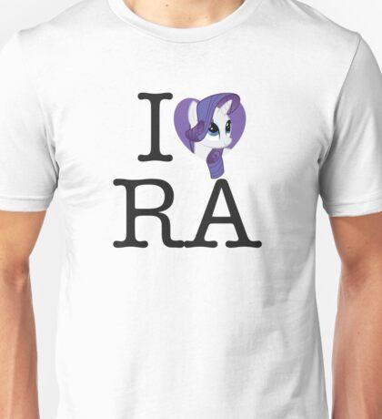 I <3 Rarity Unisex T-Shirt