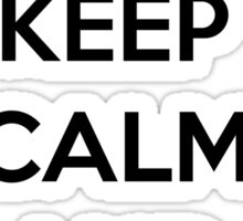 Keep calm and Airbend! Sticker