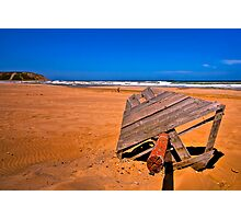 Sandy Red Beach (HDR) Photographic Print