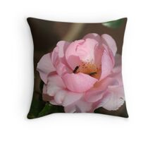 Rose' Tea  for Two' Throw Pillow