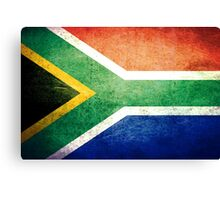 South Africa - Vintage Canvas Print