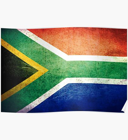 South Africa - Vintage Poster