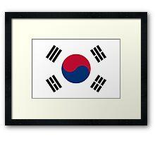 South Korea - Standard Framed Print