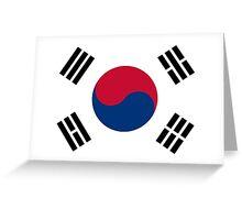 South Korea - Standard Greeting Card
