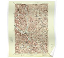 USGS Topo Map Washington State WA Skykomish 243757 1905 125000 Poster