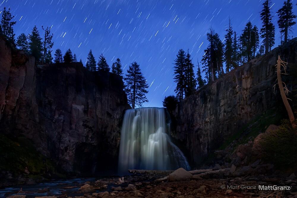 Rainbow Falls under the Stars by MattGranz