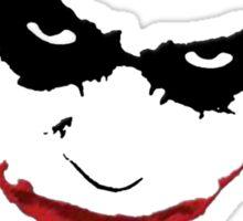 Joker Scars Sticker