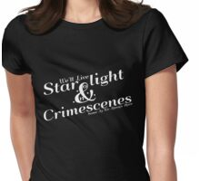 Starlight and Crimescenes Womens Fitted T-Shirt
