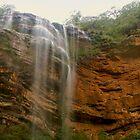 Wentworth Falls panorama by Michael Matthews
