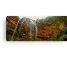 Wentworth Falls panorama Canvas Print