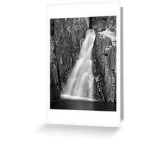 Long Exposure Waterfall 2 Greeting Card