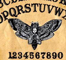 Death Head Moth Oracle Ouija Spirit Board  Sticker