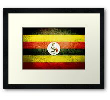 Uganda - Vintage Framed Print