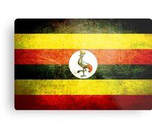 Uganda - Vintage Metal Print