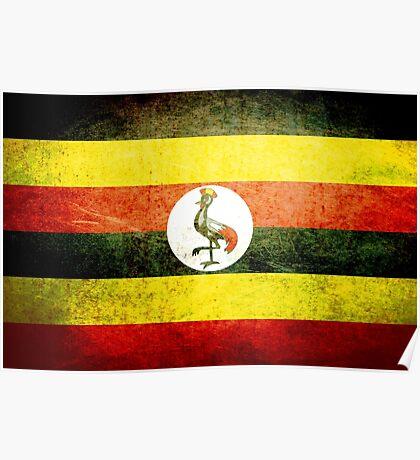 Uganda - Vintage Poster
