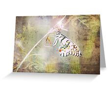 Once Upon A Butterfly Greeting Card