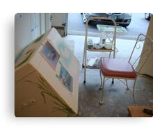 Furniture Painting Work Space Canvas Print
