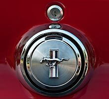 1969 Ford Mustang Mach I Gas Cap by onyonet photo studios