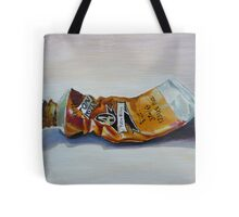 Oil on canvas ~ Yellow Ochre Tote Bag
