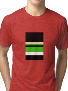 Minimalist Powerpuff Girls Buttercup [iPhone / iPad / iPod Case & Print] Tri-blend T-Shirt