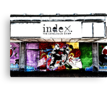 Store front Canvas Print