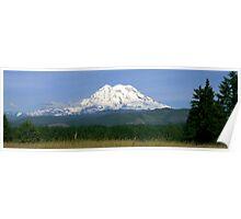 West Mt Rainier Poster