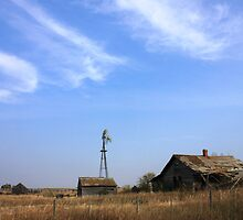 Abandoned Alberta Prairie House by Jim Sauchyn
