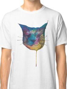 Tie Dye Cat Classic T-Shirt
