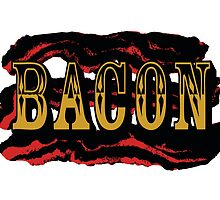 Bacon Poster by mertalou