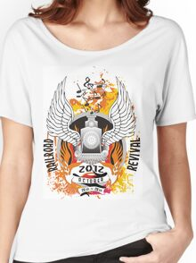 RailRoad Revival Women's Relaxed Fit T-Shirt