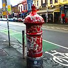 Old Post Box (Melbourne) by Russell Voigt
