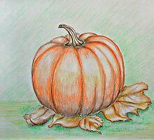 Pumpkin by thuraya arts