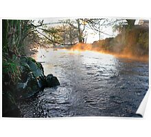 River-Fire and Ice-Elterwater Poster