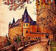 Stone Castle - Vintage by Sol Noir Studios