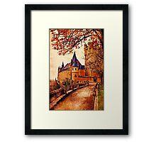Stone Castle - Vintage Framed Print