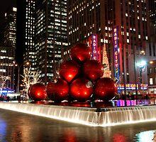 Merry New York Christmas by Nancy de Flon