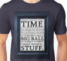 Wibbly-Wobbly, Timey-Wimey.. Stuff! Unisex T-Shirt