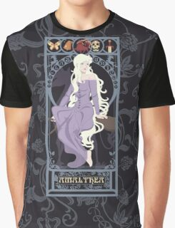 Amalthea Nouveau - The Last Unicorn Graphic T-Shirt
