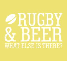 Rugby Beer What Else Is There Kids Clothes