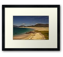 Harris: South West Coast Beaches Framed Print