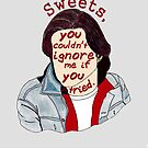 You Couldn't Ignore Me if You Tried [iPhone / iPod case / Print] by swelldame