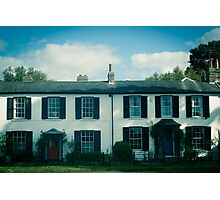Cambridge House Photographic Print