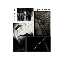 Ragman mono X files calendar cover Photographic Print