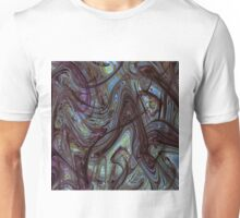 Digital Expressionism Study 2 Abstract Art Unisex T-Shirt