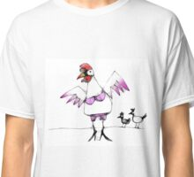 rooster in drag Classic T-Shirt