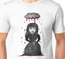 bleeding rain Unisex T-Shirt