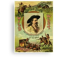 Buffalo Bill Wild West Show Canvas Print