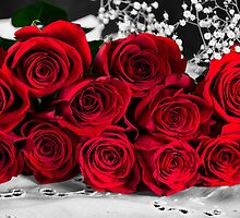 Red Roses Bouquet  by daphsam