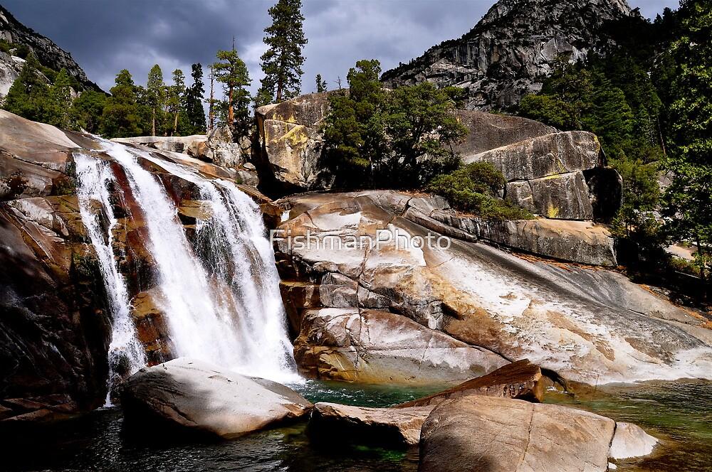 King Canyon California Waterfall by FishmanPhoto