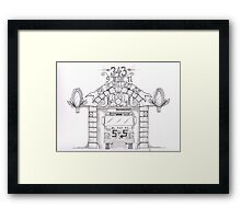 Engine 55 Framed Print